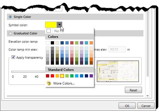 Single Color panel